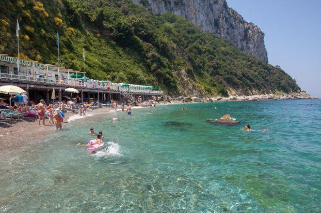 Bagni di Tiberio-Capri-